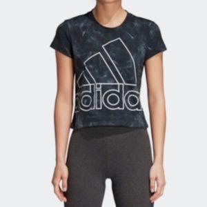 Adidas Women's Crop Top T Shirt  NWT